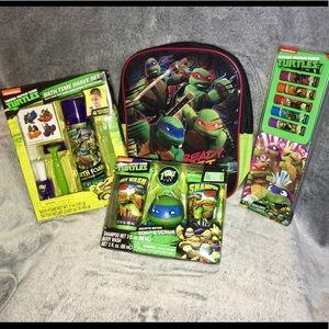 🆕 TMNT Ninja Turtles Gift Set Bundle 🎁